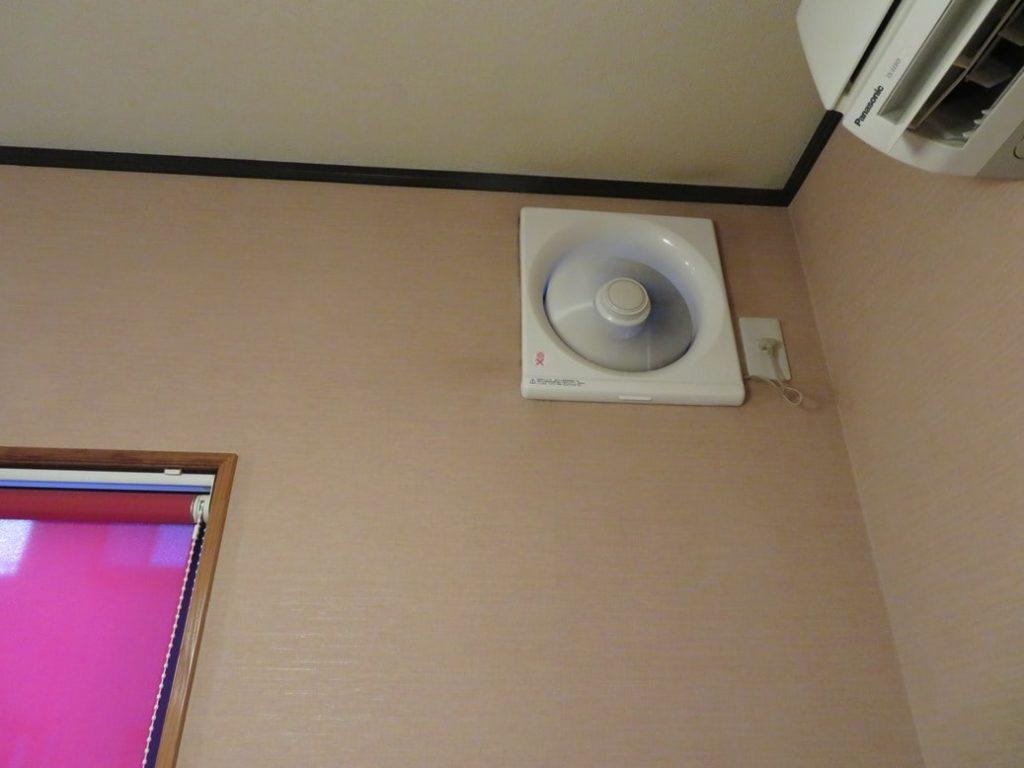居酒屋みやもんでは換気扇による換気を徹底しています